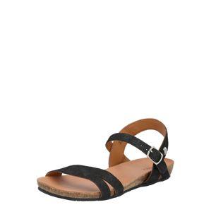 MEXX Páskové sandály 'Esmeralda'  černá
