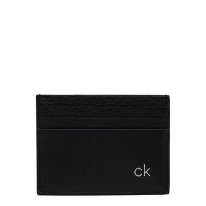 Calvin Klein Peněženka 'DIRECT CARDHOLDER'  černá