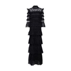 By Malina Společenské šaty 'Carmine'  černá