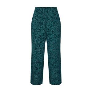 MINKPINK Kalhoty  černá / zelená