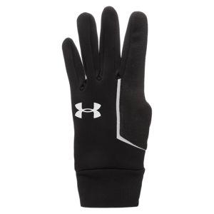 UNDER ARMOUR Sportovní rukavice  černá / bílá