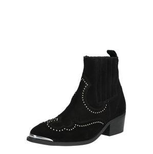 PAVEMENT Kovbojské boty 'Ruth'  černá