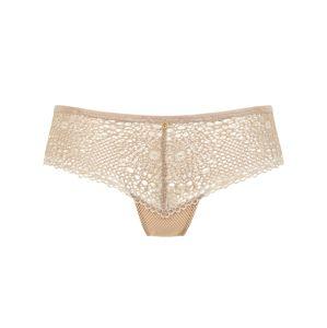 PALMERS Kalhotky 'Fancy Crochet Panty'  písková