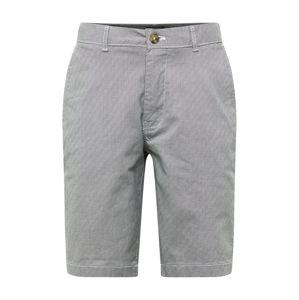 BURTON MENSWEAR LONDON Chino kalhoty 'MONO'  bílá / černá