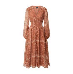 Bardot Letní šaty 'MARA'  oranžová / hnědá