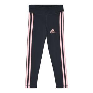 ADIDAS PERFORMANCE Sportovní kalhoty  antracitová / růžová