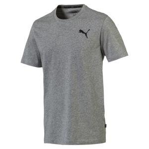 PUMA Funkční tričko 'Essentials'  šedý melír