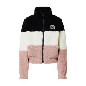 Picture Organic Clothing Funkční fleecová mikina 'OCTAVIA'  černá / pink / bílá