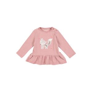 STACCATO Tričko  pastelově růžová / růžová / světle šedá / bílá