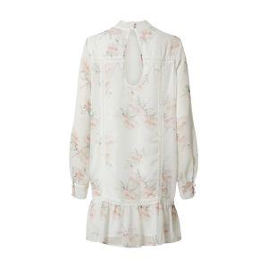 NA-KD Letní šaty  bílá / růžová