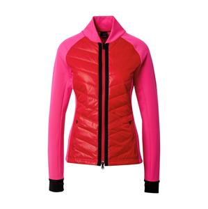 Bogner Fire + Ice Mikina s kapucí 'KATHA'  červená / pink / černá