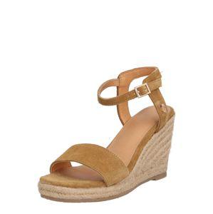 MEXX Páskové sandály 'Estelle'  béžová / písková