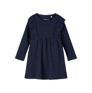 NAME IT Šaty 'Blanca'  námořnická modř