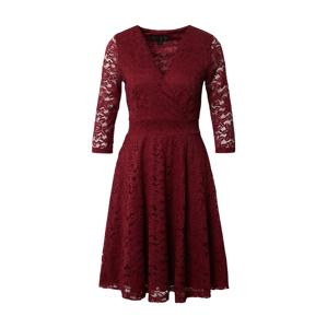 Mela London Koktejlové šaty 'DELICATE'  burgundská červeň