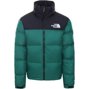 THE NORTH FACE Zimní bunda '1996 Retro Nuptse'  zelená / tmavě modrá