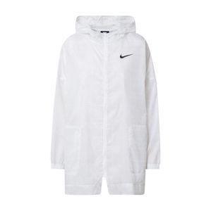 NIKE Sportovní bunda  bílá