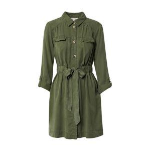 Miss Selfridge Košilové šaty  khaki