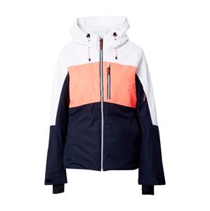 ICEPEAK Outdoorová bunda 'CASORIA'  bílá / námořnická modř / lososová