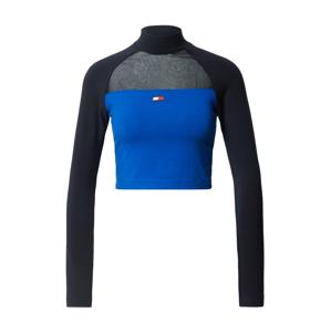Tommy Sport Sportovní top  černá / modrá