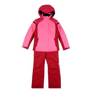 CMP Sportovní oblečení  pink / červená / bílá