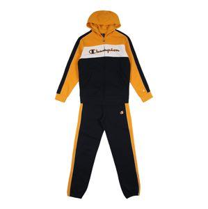 Champion Authentic Athletic Apparel Tepláková souprava  zlatě žlutá / černá / bílá