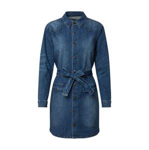 SISTERS POINT Přechodný kabát 'FRIDA'  modrá džínovina