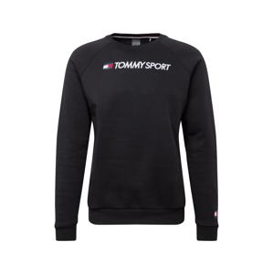 Tommy Sport Sportovní mikina  černá / bílá / námořnická modř / červená