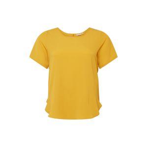 ONLY Carmakoma Tričko 'Luxmai'  zlatě žlutá