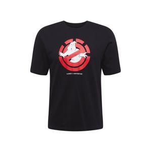 ELEMENT Tričko 'Ghostly'  černá / červená