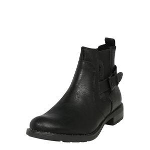 TOM TAILOR Chelsea boty  černá