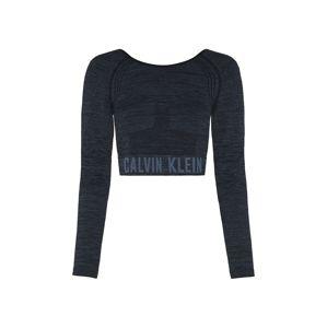 Calvin Klein Performance Funkční tričko  šedá / černý melír