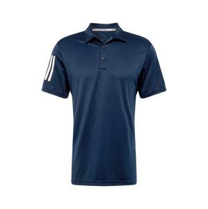adidas Golf Funkční tričko  bílá / námořnická modř