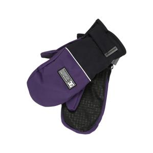 DC Shoes Sportovní rukavice 'FRANCHISE'  tmavě fialová / černá