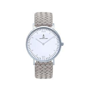Kapten & Son Analogové hodinky 'Campina'  šedá / stříbrná