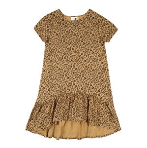 Cotton On Šaty 'Joss'  hnědá / černá / písková