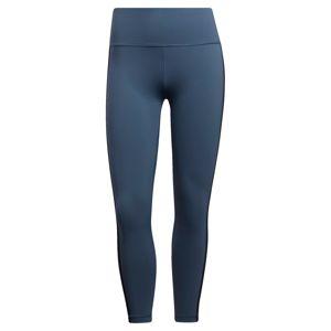 ADIDAS PERFORMANCE Sportovní kalhoty  chladná modrá / černá