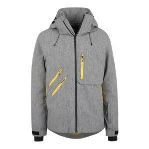 QUIKSILVER Sportovní bunda 'TRAVERSE'  šedý melír