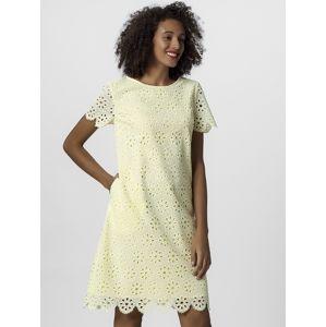 APART Šaty  pastelově žlutá