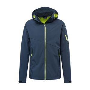 ICEPEAK Outdoorová bunda 'Barling'  limetková / námořnická modř
