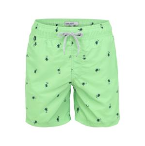 BLEND Plavecké šortky  zelená