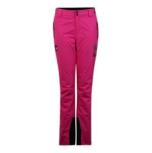 Superdry Snow Sportovní kalhoty  černá / pink
