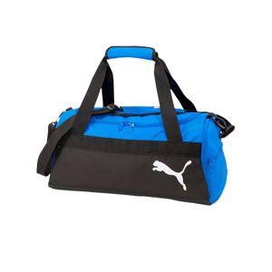 PUMA Sportovní taška  černá / královská modrá
