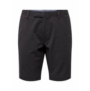 POLO RALPH LAUREN Chino kalhoty 'SLFHDNS-FLAT-SHORT'  černá