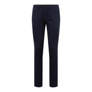 BOSS Chino kalhoty  tmavě modrá