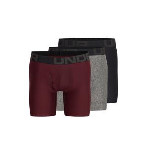 UNDER ARMOUR Sportovní spodní prádlo  černá / šedá / bordó
