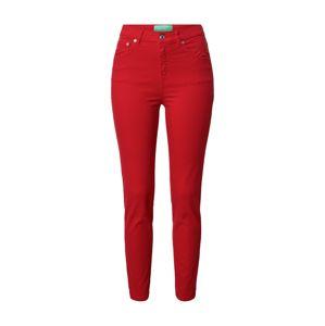 UNITED COLORS OF BENETTON Kalhoty  červená