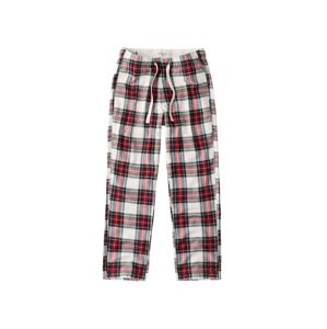 Abercrombie & Fitch Pyžamové kalhoty  bílá / červená / černá