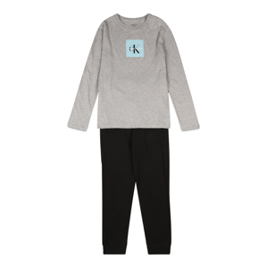 Calvin Klein Underwear Pyžamo  černá / světlemodrá / šedá