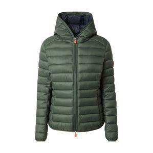 SAVE THE DUCK Přechodná bunda  tmavě zelená
