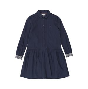 TOMMY HILFIGER Šaty  námořnická modř / bílá